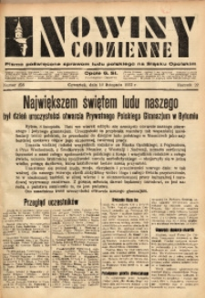 Nowiny Codzienne, 1932, R. 22, nr 258