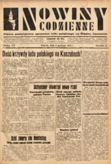 Nowiny Codzienne, 1932, R. 22, nr 279