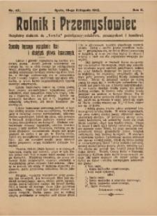 Rolnik i Przemysłowiec, 1912, R. 2, nr 42