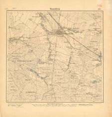 Rosenberg in Ober-Schlesien (Olesno). Arkusz nr 3025 [5176] - 1902 r.