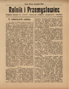 Rolnik i Przemysłowiec, R. 3, 20 września 1913