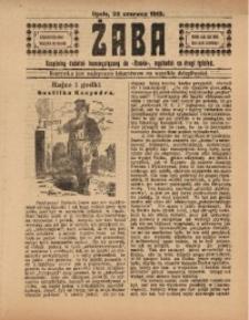 Żaba, R. 3, 22 czerwca 1913