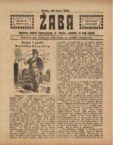 Żaba, R. 3, 20 lipca 1913