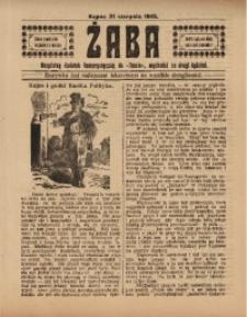 Żaba, R. 3, 31 sierpnia 1913