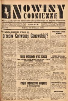 Nowiny Codzienne, 1933, R. 23, nr 83