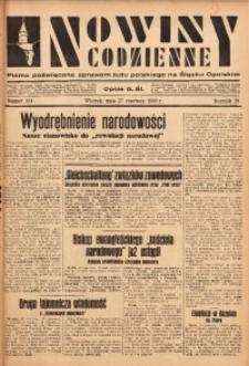 Nowiny Codzienne, 1933, R. 23, nr 134