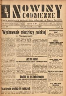 Nowiny Codzienne, 1933, R. 23, nr 136