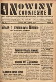 Nowiny Codzienne, 1933, R. 23, nr 165