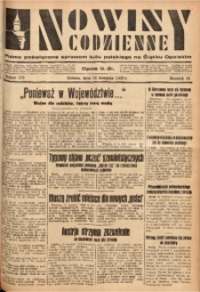 Nowiny Codzienne, 1933, R. 23, nr 173