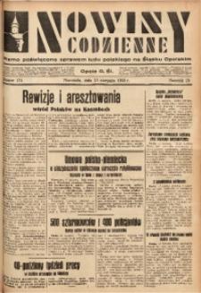 Nowiny Codzienne, 1933, R. 23, nr 174