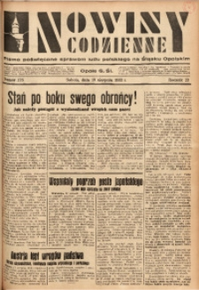 Nowiny Codzienne, 1933, R. 23, nr 178