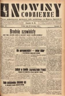 Nowiny Codzienne, 1933, R. 23, nr 181