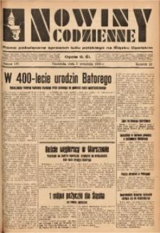 Nowiny Codzienne, 1933, R. 23, nr 191