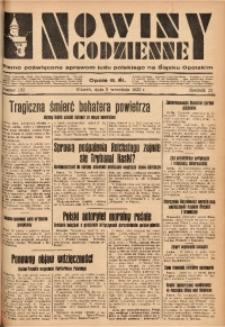 Nowiny Codzienne, 1933, R. 23, nr 192