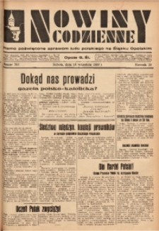 Nowiny Codzienne, 1933, R. 23, nr 202