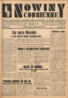 Nowiny Codzienne, 1933, R. 23, nr 223