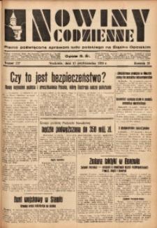 Nowiny Codzienne, 1933, R. 23, nr 227
