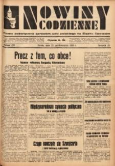 Nowiny Codzienne, 1933, R. 23, nr 235