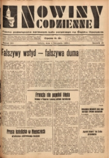 Nowiny Codzienne, 1933, R. 23, nr 243