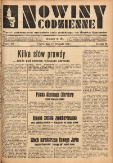 Nowiny Codzienne, 1933, R. 23, nr 248