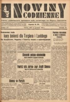 Nowiny Codzienne, 1933, R. 23, nr 277