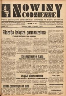 Nowiny Codzienne, 1933, R. 23, nr 278