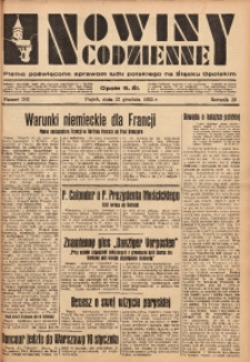 Nowiny Codzienne, 1933, R. 23, nr 282