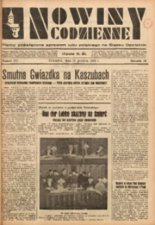 Nowiny Codzienne, 1933, R. 23, nr 285