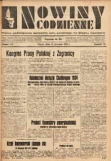 Nowiny Codzienne, 1933, R. 23, nr 286