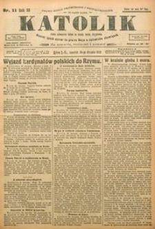 Katolik, 1922, R. 55, nr 11