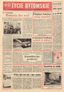 Życie Bytomskie, 1981, R. 25, nr 39 (1290)