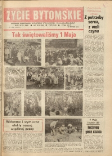 Życie Bytomskie, 1987, R. 31, nr 18 (1566)