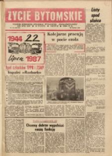 Życie Bytomskie, 1987, R. 31, nr 29 (1577)