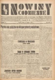 Nowiny Codzienne, 1934, R. 24, nr 42