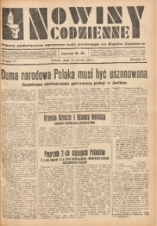 Nowiny Codzienne, 1934, R. 24, nr 57