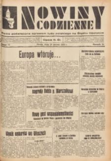 Nowiny Codzienne, 1934, R. 24, nr 72