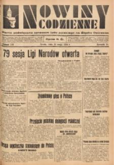 Nowiny Codzienne, 1934, R. 24, nr 109