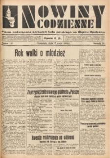 Nowiny Codzienne, 1934, R. 24, nr 110