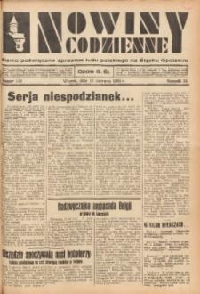 Nowiny Codzienne, 1934, R. 24, nr 130