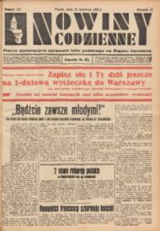 Nowiny Codzienne, 1934, R. 24, nr 139