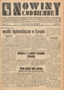 Nowiny Codzienne, 1934, R. 24, nr 143