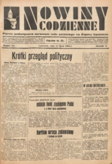 Nowiny Codzienne, 1934, R. 24, nr 155
