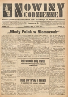 Nowiny Codzienne, 1934, R. 24, nr 164