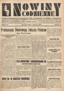 Nowiny Codzienne, 1934, R. 24, nr 181