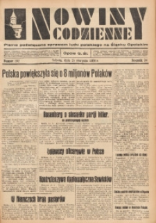Nowiny Codzienne, 1934, R. 24, nr 192