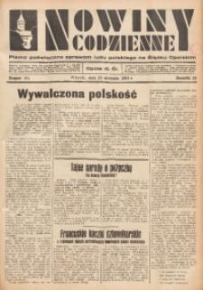 Nowiny Codzienne, 1934, R. 24, nr 194