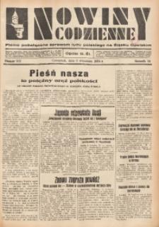 Nowiny Codzienne, 1934, R. 24, nr 202