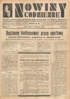 Nowiny Codzienne, 1934, R. 24, nr 213