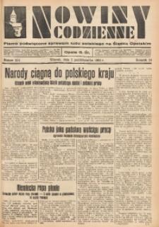 Nowiny Codzienne, 1934, R. 24, nr 224