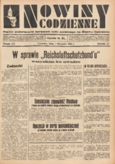 Nowiny Codzienne, 1934, R. 24, nr 250